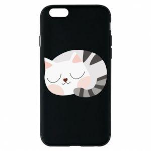 Etui na iPhone 6/6S Słodki kot