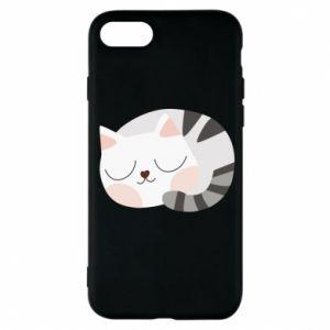 Etui na iPhone 7 Słodki kot