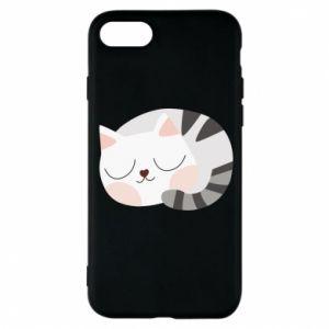 Etui na iPhone 8 Słodki kot