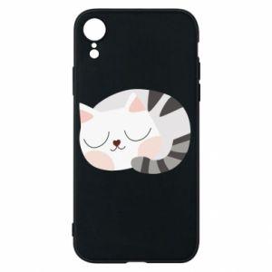 Etui na iPhone XR Słodki kot