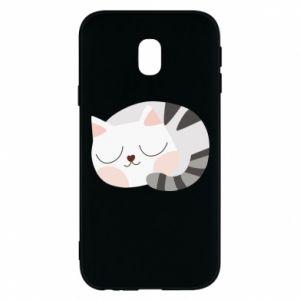 Etui na Samsung J3 2017 Słodki kot