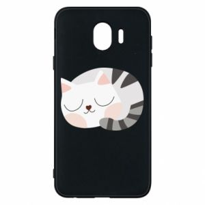 Etui na Samsung J4 Słodki kot