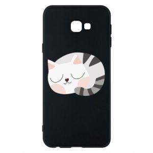 Etui na Samsung J4 Plus 2018 Słodki kot