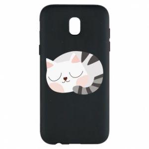 Etui na Samsung J5 2017 Słodki kot