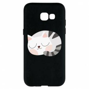 Etui na Samsung A5 2017 Słodki kot