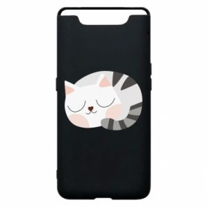 Phone case for Samsung A80 Sweet cat