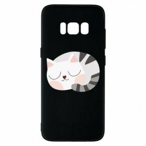 Etui na Samsung S8 Słodki kot