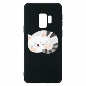 Etui na Samsung S9 Słodki kot