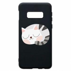 Etui na Samsung S10e Słodki kot