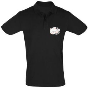 Koszulka Polo Słodki kot