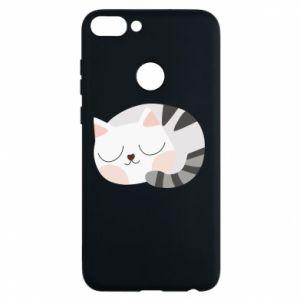 Etui na Huawei P Smart Słodki kot