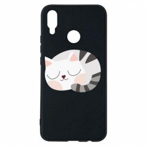 Etui na Huawei P Smart Plus Słodki kot