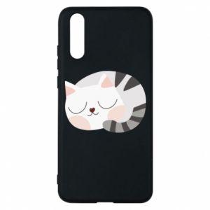Etui na Huawei P20 Słodki kot