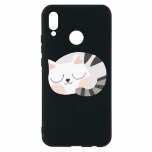 Etui na Huawei P20 Lite Słodki kot