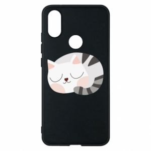 Etui na Xiaomi Mi A2 Słodki kot