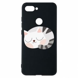 Etui na Xiaomi Mi8 Lite Słodki kot