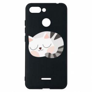 Etui na Xiaomi Redmi 6 Słodki kot