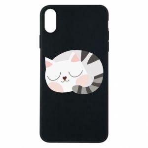 Etui na iPhone Xs Max Słodki kot