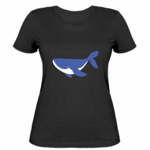 Women's t-shirt Cute whale