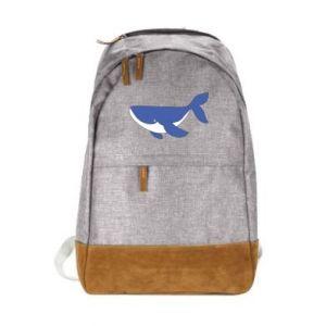 Miejski plecak Słodki wieloryb