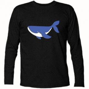 Long Sleeve T-shirt Cute whale