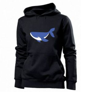 Women's hoodies Cute whale