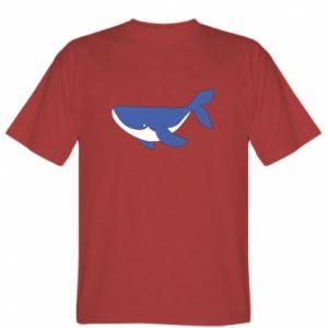 T-shirt Cute whale
