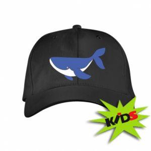 Kids' cap Cute whale