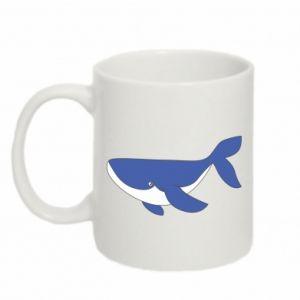 Kubek 330ml Słodki wieloryb