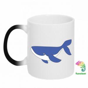 Kubek-kameleon Słodki wieloryb