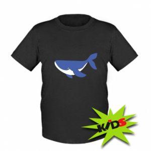 Dziecięcy T-shirt Słodki wieloryb