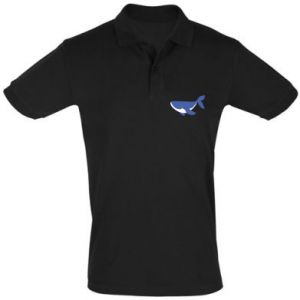 Men's Polo shirt Cute whale