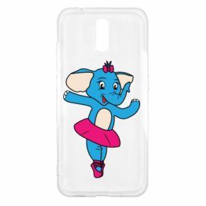 Etui na Nokia 2.3 Słoń-balerina