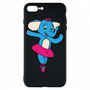 Etui na iPhone 8 Plus Słoń-balerina