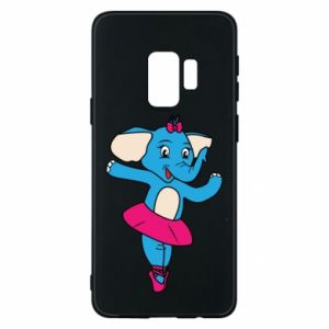 Etui na Samsung S9 Słoń-balerina