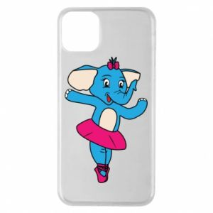 Etui na iPhone 11 Pro Max Słoń-balerina