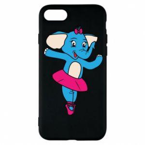 Etui na iPhone 7 Słoń-balerina