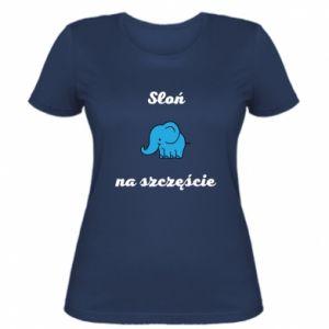 Women's t-shirt Elephant for luck