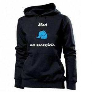 Bluza damska Słoń na szczęście