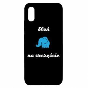 Etui na Xiaomi Redmi 9a Słoń na szczęście