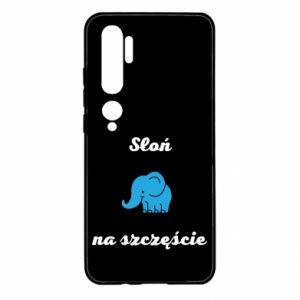 Etui na Xiaomi Mi Note 10 Słoń na szczęście