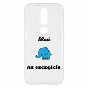Etui na Nokia 4.2 Słoń na szczęście
