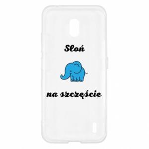 Etui na Nokia 2.2 Słoń na szczęście