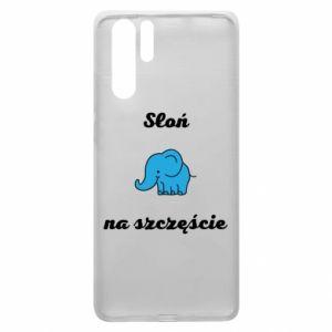 Etui na Huawei P30 Pro Słoń na szczęście