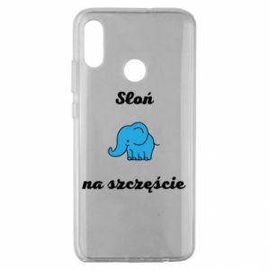 Etui na Huawei Honor 10 Lite Słoń na szczęście