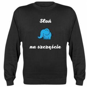 Bluza Słoń na szczęście