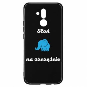 Etui na Huawei Mate 20 Lite Słoń na szczęście