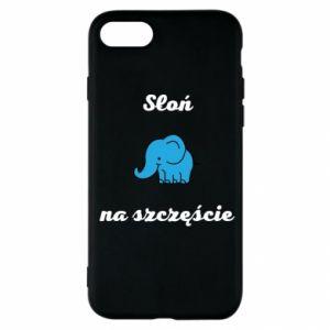 Etui na iPhone SE 2020 Słoń na szczęście