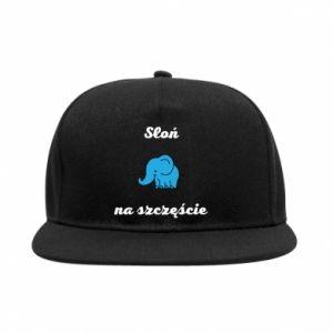 Snapback Słoń na szczęście