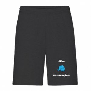 Men's shorts Elephant for luck